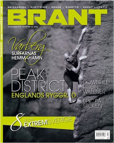 Brant magazine front cover