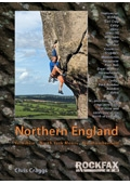 Front cover of Rockfax North England guidebook