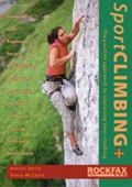Front cover image on Sport Climbing+