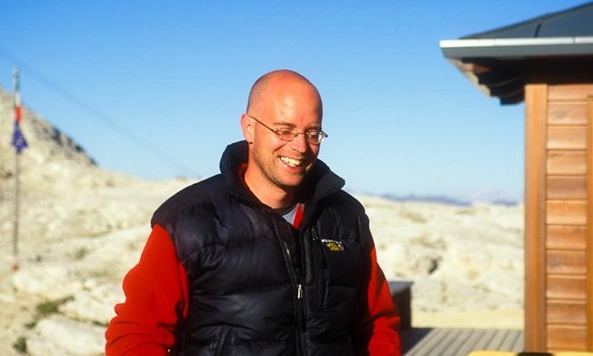 Alex Messenger, climbing photographer.