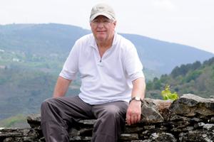 Portrait of Ian Smith, professional photographer.