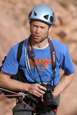 Mike Hutton climbing photographer