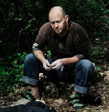 Tim Glasby, climbing photographer.